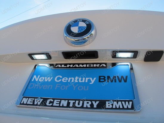 BMW - X6 - M - LED - License - plate - lights - 4